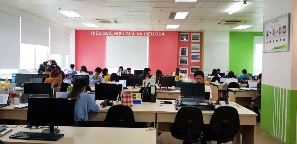 Một góc văn phòng làm việc của Nhà Đại Phát