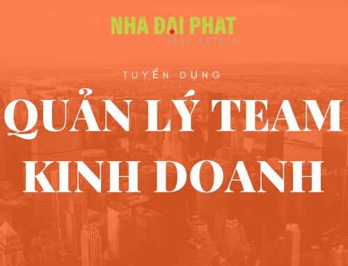QUẢN LÝ TEAM KINH DOANH