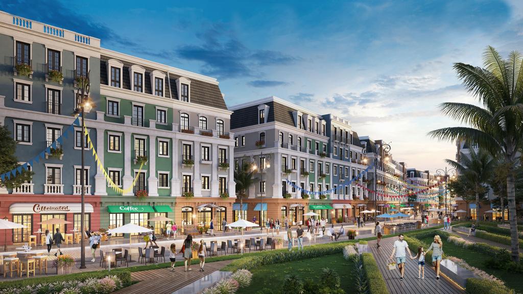 Boutique Shophouse Mekodia nằm ngay tâm điểm Nam Phú Quốc - được quy hoạch ưu việt, thiết kế tân cổ điển