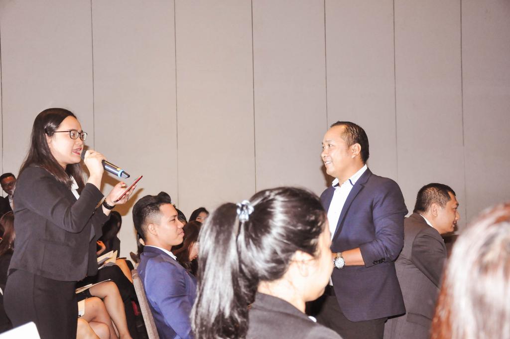 Phần giao lưu giữa chuyên viên tư vấn BDS và đại diện sở du lịch thành phố Hồ Chí Minh