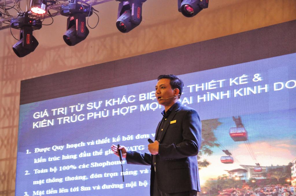 Ông Hoàng Đức Dũng - diễn giả trong các buổi chia sẻ thông tin thị trường và đào tạo chuyên sâu của tập đoàn SunGroup.