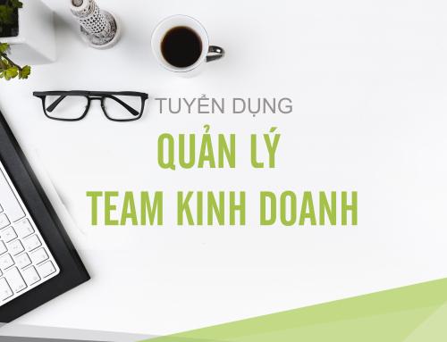TRƯỞNG PHÒNG KINH DOANH