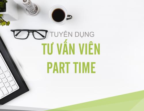 TƯ VẤN VIÊN – PART TIME