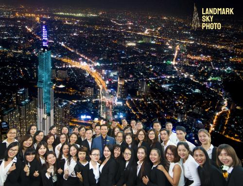 Công ty Nhà Đại Phát cho Nhân viên tham qua Landmark 81