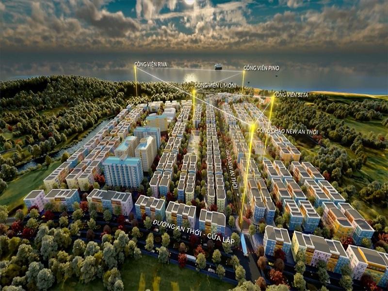 Khu đô thị kiểu mẫu Sun Grand City New An Thới