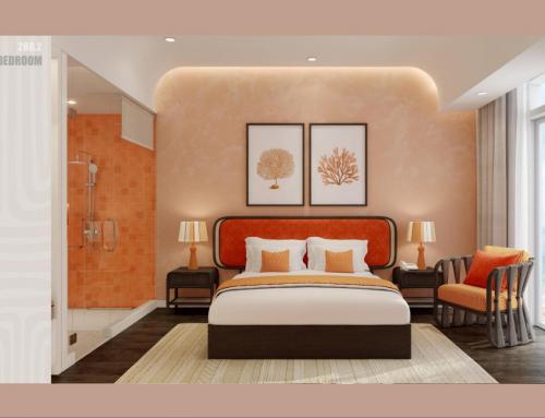 Nội thất tinh tế của căn hộ Hillside Phú Quốc