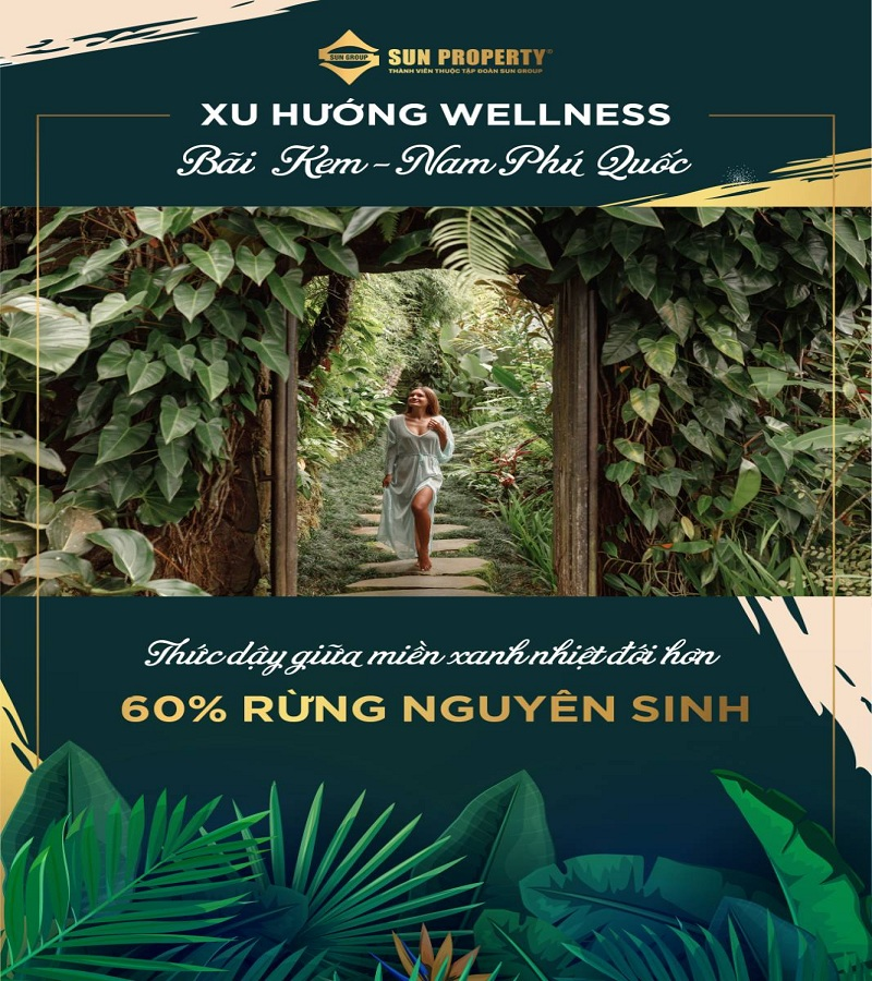 sống wellness giữa rừng nguyên sinh